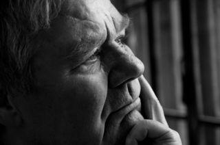 Elder Worried Man
