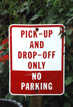 Pick-up-drop-off-only